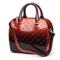 Tosoco Women fashion handbag 2014 glossy pressure decorative pattern female bags shell cross-body bag