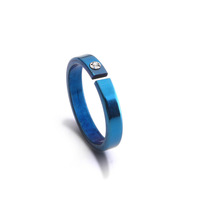 Lovers accessories color ring fashion personality ring stainless steel 6ewfnf6w