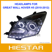 H5 Car Headlight For GreatWall Hover haval head lamp Projector Lens eye-angle