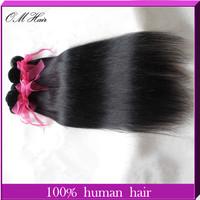 OM Hair: Unprocessed Brazilian Virgin Hair Straight Hair Extensions Mixed Length 8-28inch Black Hair Weaves Free Shipping