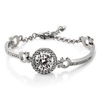 Fashion bracelet hearts and arrows zircon bracelet -