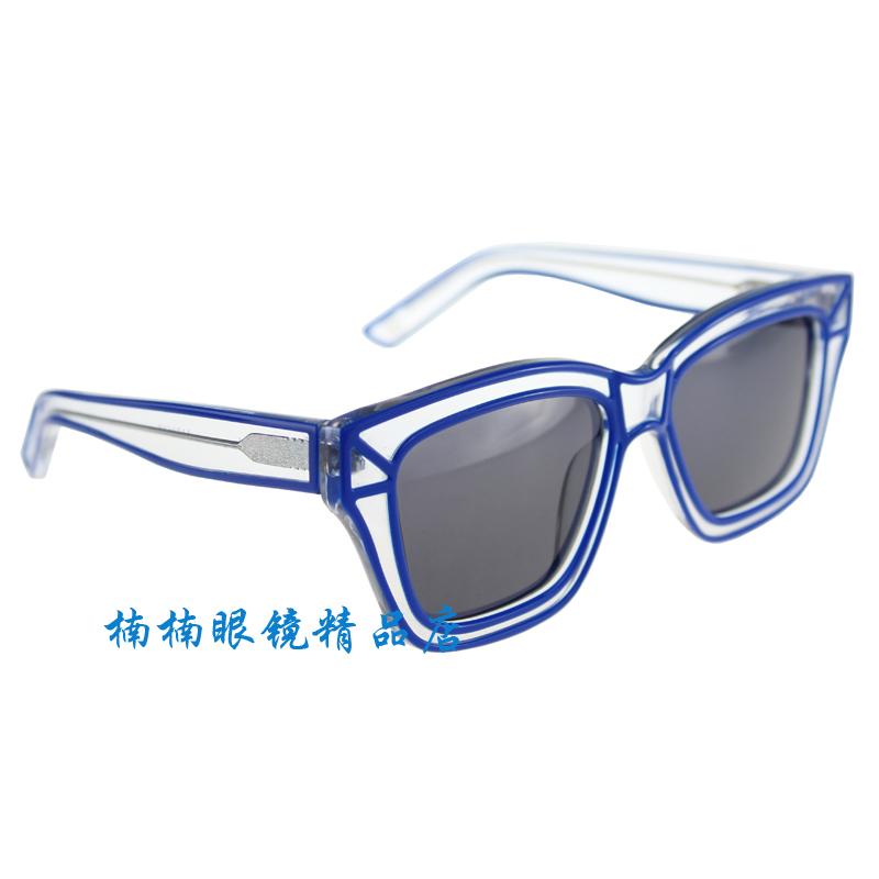 Big Blue Glasses Frames : Aliexpress.com : Buy fashion model 1101618 Classict ...