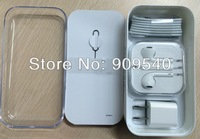 1pcs US version Packing Box For iPhone 5c+User Manual+All Accessories, Free shipping drop shiping