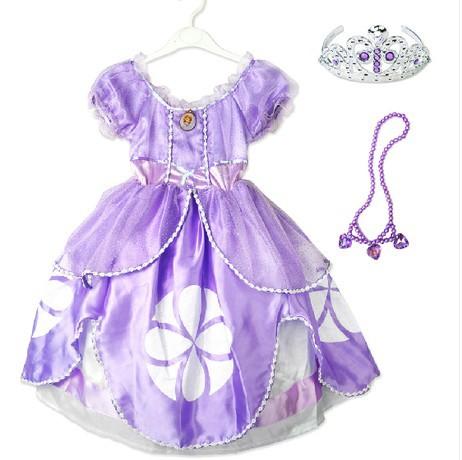 Vestido De La Princesa Sofia - Compra lotes baratos de Vestido De ...