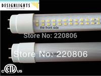 110V 120V 277V AC bridgelux 18W 1900-2100lm 48inch 4 feet 1200mm dimmable (dimmer) led tube light T8 bulb lamp UL CUL approval