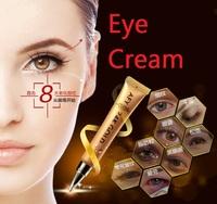 Golden 24k eye cream 20ml top quality cream for remove dark circles  moisturizing eyes and anti- puffiness