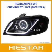 Lova head lamps eyeangle dual projectors for Chevrolet lova 07-09