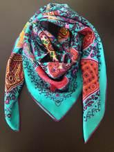 silk twill scarf price