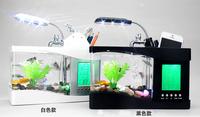 White/Black Mini USB LED Light Fish Tank Aquarium