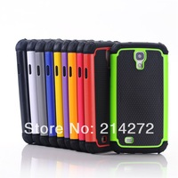 Free shipping Heavy duty Hybrid Dual Layer 3 in 1 Defender robot Case for samsung galaxy s4 cover 10pcs/lot