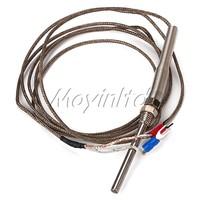 K Type Thermocouple Probe Sensors High Precision Temperature 2m