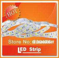 Free shipping 30leds/m 150 LEDs SMD5050 Epistar 7.2W/m 12VDC waterproof IP65 RGB Flexible led strip light