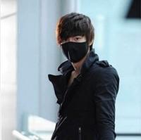 Black Activated Carbon Cotton Masks Surgical Windproof Anti Dust Men Masks Flu Face masks