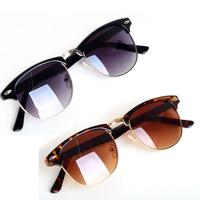 1PC Unisex HOT Most Popular Classic Retro Avaitor Golden Mirrored Sunglasses All Match Glasses Women 2013