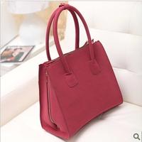 2014 women's bags fashion vintage the trend of fashion Wine red bags handbag shoulder bag
