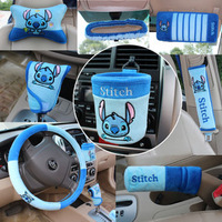 Auto supplies auto upholstery decoration set handbrake cover stitch cartoon piece set