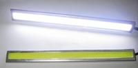 2pcs/ LOT Daytime Running Light 17 CM Waterproof Driving Power Day Fog Light 12V LED COB Car Auto DRL Driving White Light