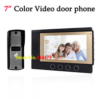 NEW Home Color Video door Phone intercom system with 7 inch LCD Monitor IR night Vision Camera
