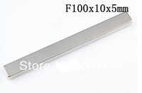 5PCS Neodymium Block Countersunk Ring Strong Magnets F100 x10 x 5mm  N35 Free Shipping