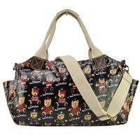 2014 spring print bear women messenger bag travel bag print handbags GY116
