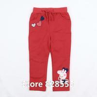 Calca Jeans Feminina New 2014 Baby Clothing Autumn Girls' Leggings For Children's Pants Girl Peppa Pig Trousers Vestido Bebe
