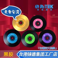 Ritek cd colorful vinyl cd-r 52x music cd discs 5 blank cd  2014 free shipping