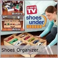 Foldable Storage Organizer Case Box Holder For Shoe   5 pcs /lot