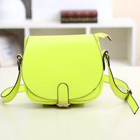 2014 candy color fashion one shoulder handbag cross-body bags female small messenger bag vintage mini bag