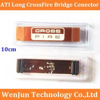 "Free Shipping  ATI Long CrossFire Bridge Connecctor 10cm 4"" High Quality"