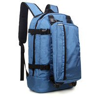 Backpack travel backpack bags lovers double and single dual-use package independent shoulder bag