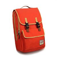 Color block backpack female 2013 the trend backpack middle school students school bag travel bag