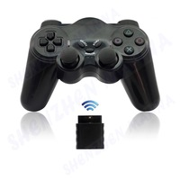 30PCS/LOT  FREE SHIPPING  New Black 2.4GHz RF Wireless GamePad  Joystick Joypad For P2 Controller Console#DW004