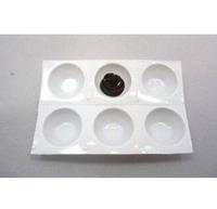 500pcs Cups/lot,Disposable Perforated Plastic Eyelash Extension Glue Holder Wells Adhesive Tray Eyelashes