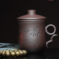 Tea set yixing cup series liner tea interval office cup Filtering cup