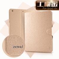 Gold  for apple    for ipad   air protective case ultra-thin ipad5 ipadair belt hasp holsteins