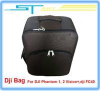 Drop shipping hot 2014 fashion Backpack bag for DJI Phantom 2 Vision+ FC40 GPS RC drone Quadcopter FPV Camera VS  supernova sale