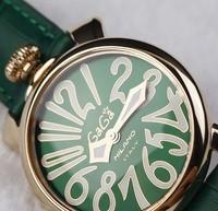 Wooden box green quartz watch lady gaga watch popular the trend of fashion 81g 1
