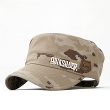 American quik live Camouflage water wash 100% Men cotton military hat cap cadet military cap(China (Mainland))