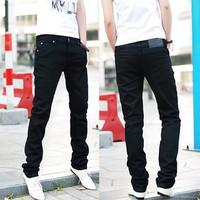 free shipping Summer male elastic pencil pants skinny pants male pants skinny pants