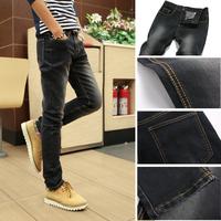Spring ! new arrival 2014 jeans slim pencil pants boys