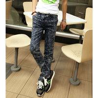 Spring slim male jeans men's clothing jeans skinny pants