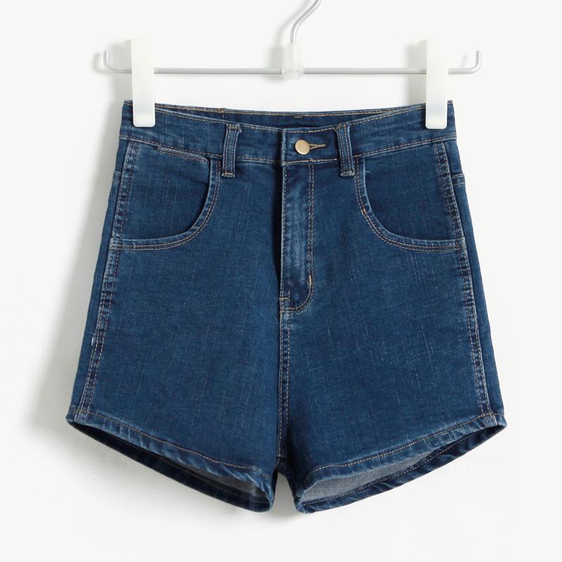 denim micro shorts - photo #33