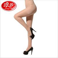 Langsha Summer Stockings Core-Spun Yarn Candy Color Single Plus Crotch Female Leg Shaping Sexy Pantyhose