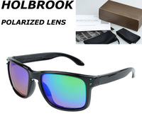 2014 NEW WHOLESALE WITH RETAIL BOX Polarized Sunglasses Holbrook Sports goggles Polaroid Cycling sun glasses Men 9102 WOMEN