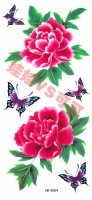 Tattoo stickers/ glitter butterfly peony  pattern Tattoo stickers waterproof female Tattoo