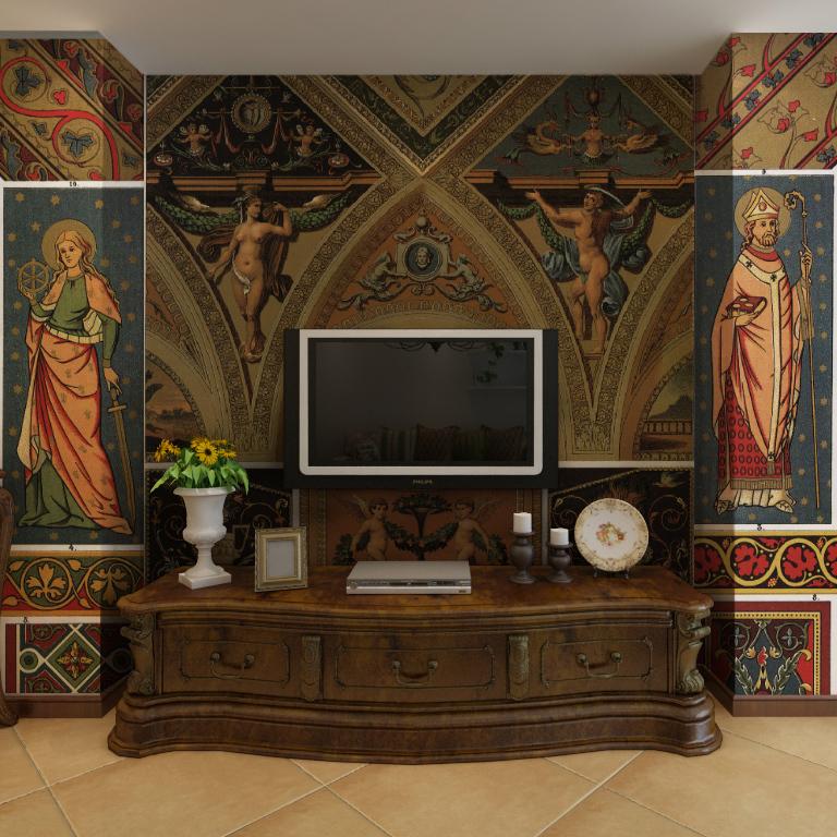 Barok muurstickers aanbieding winkelen voor aanbiedingen barok muurstickers op - Muur kamer meisje ...