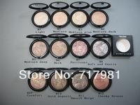 1pcs mc brand makeup high quality MINERALIZE SKINFINISH face cake powder Foundation 10g dropship free shipping