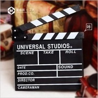 Photo props photography props wedding dress studio props wooden clapperboard director board