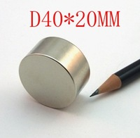 40*20 1pc  n52 ndfeb d40x20mm strong magnet lodestone super permanent neodymium D40mmx20mm magnets