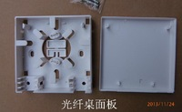 Special wholesale FTTH FTTH fiber optic terminal junction box panel Fibre Box 86 Desktop 30pcs/lots